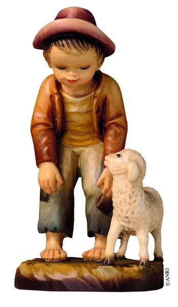 Pastore con pecora Anri Ferrandiz cm. 7,5