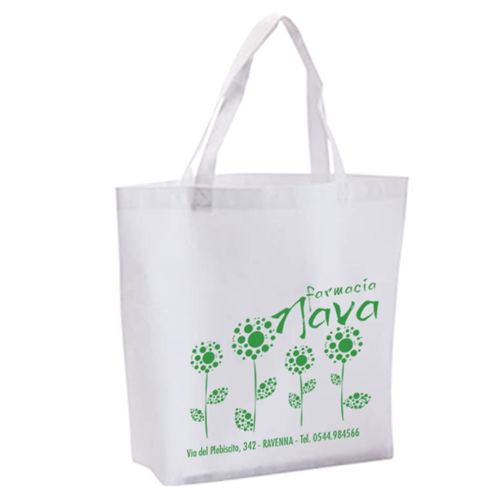 Shopper TNT con soffietto