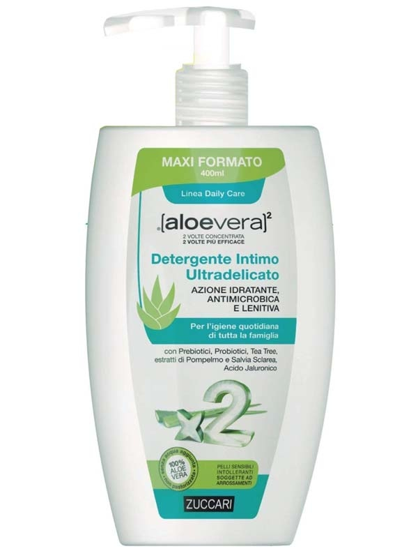 Aloe2 Detergente Intimo Ultradelicato Formato Convenienza
