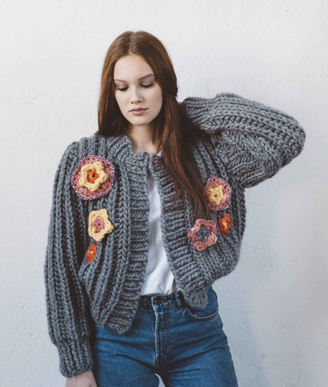Cardigans and Vests  - Wool - Spring Bomber - 1