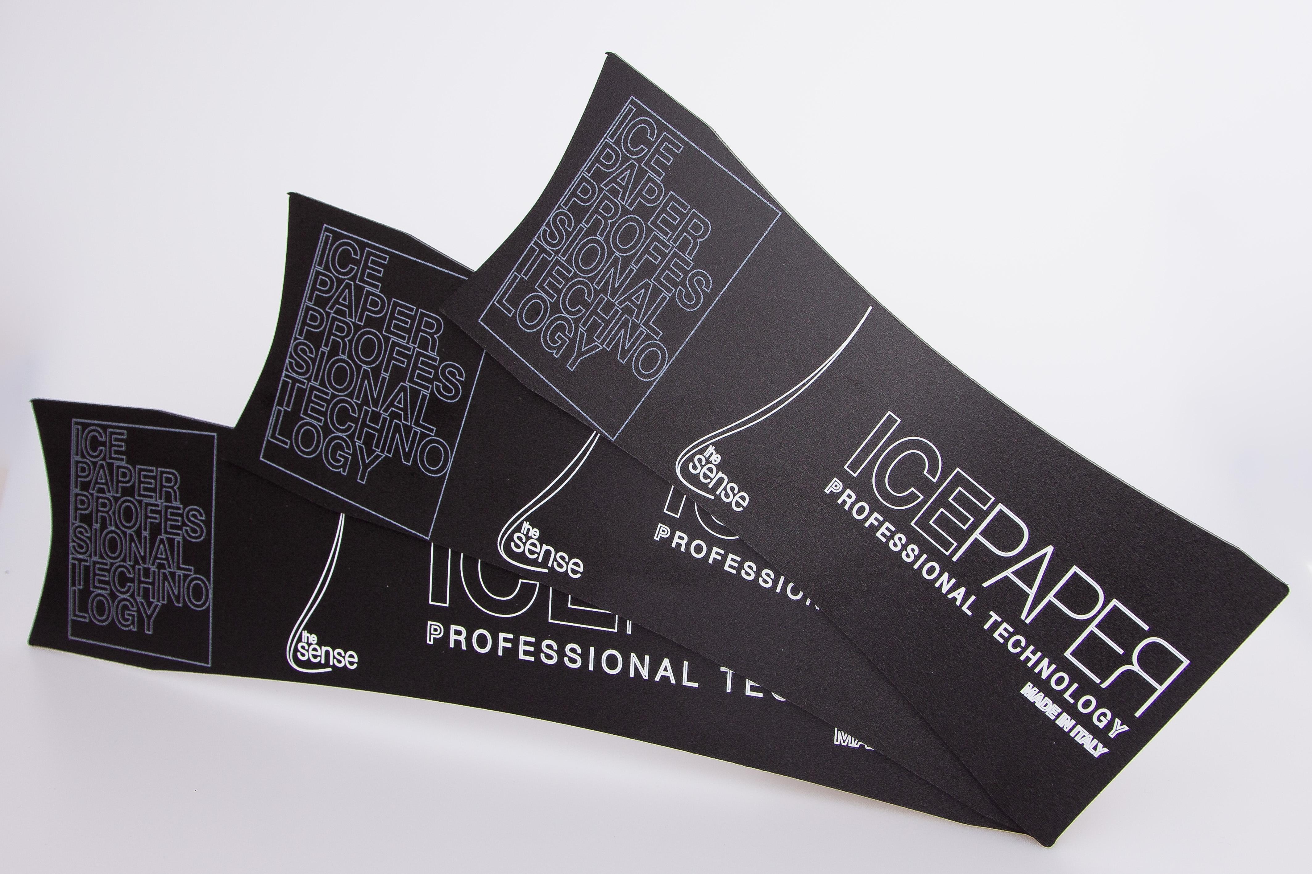 Tris Spatole Ice Paper-Spatole per meches