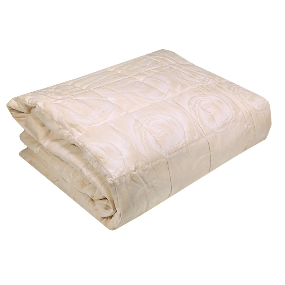 Copripiumino 270x260.Quilt Bedspread King Size 270x260 Cm Trussardi Planet Ivory