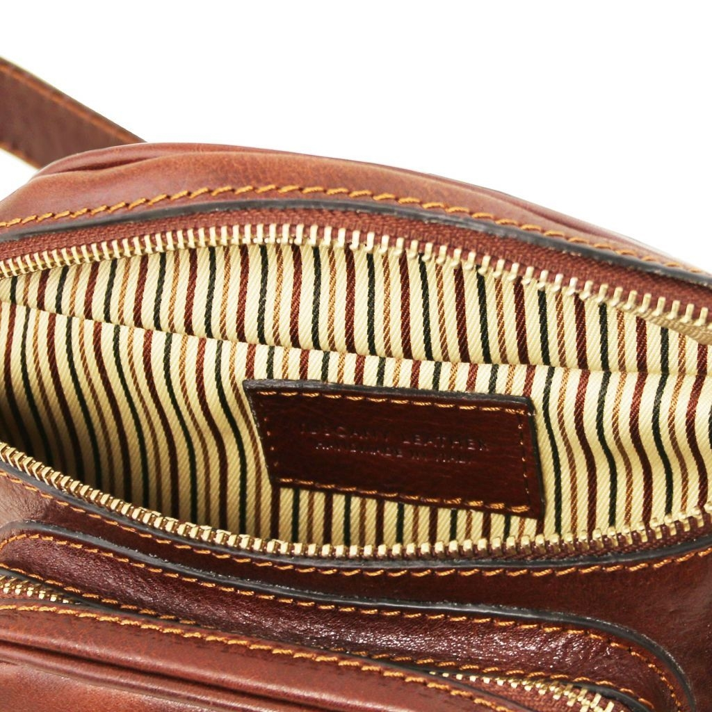 Tuscany Leather TL141797 Marsupio in pelle Rosso