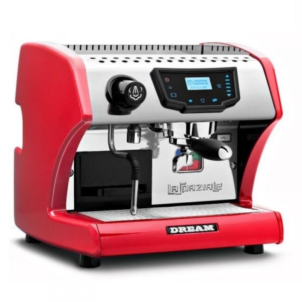 Macchina caffè La Spaziale S1 DREAM  disponibile rossa e nera.