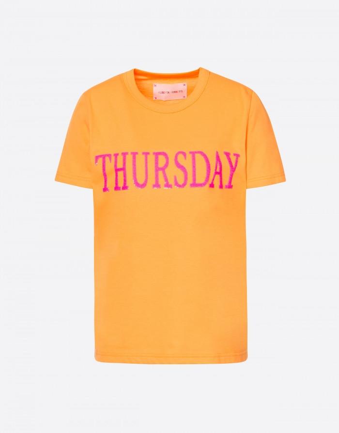 T-SHIRT FLUO RAINBOW WEEK, THURSDAY