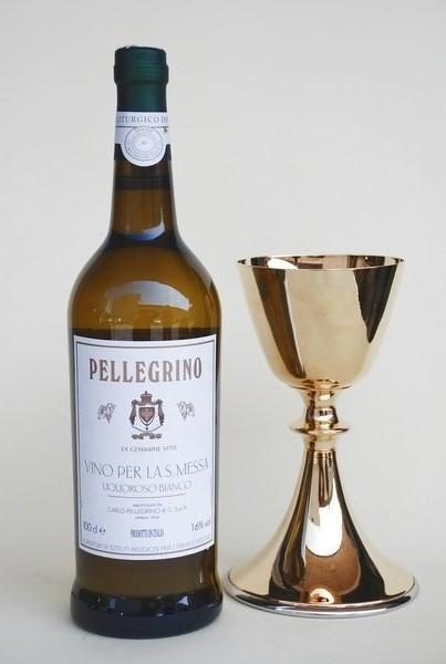 Vino bianco Santa Messa Pellegrino (bottiglia)