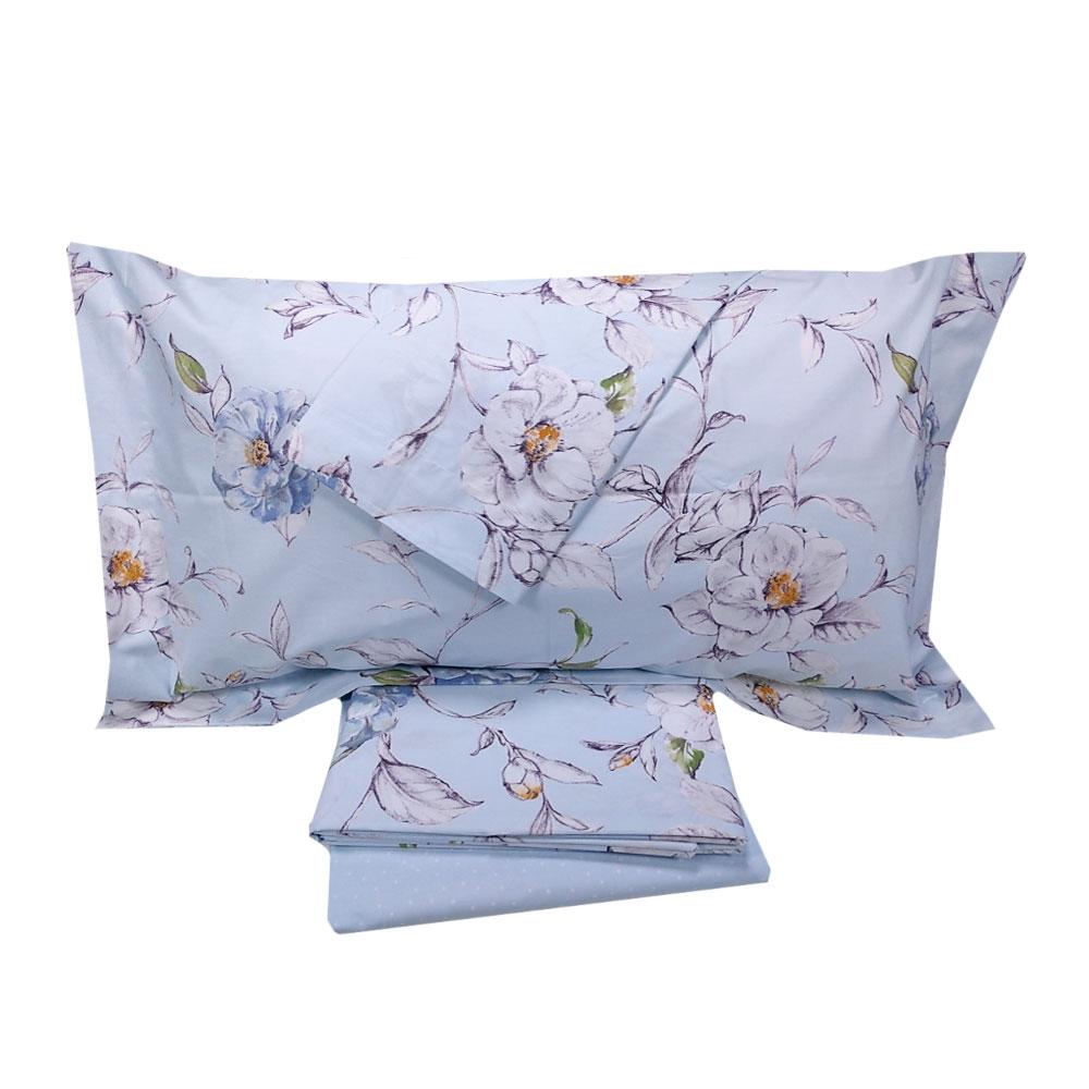 Lenzuola Matrimoniali Gabel.Gabel Secrets Double Bed Sheet Set In Floral Percale