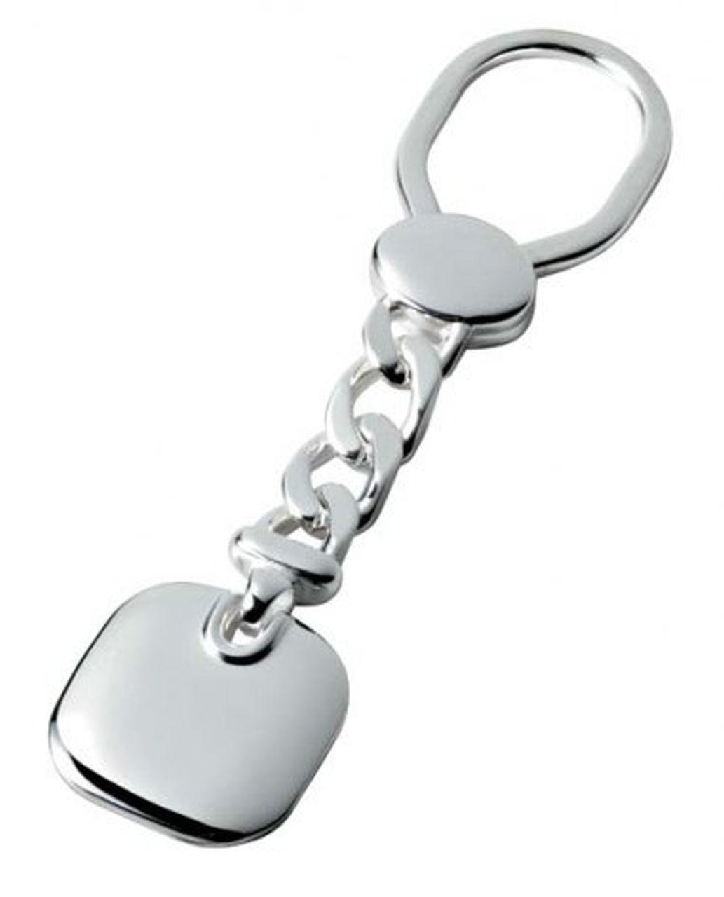 Portachiavi in argento 925 catena