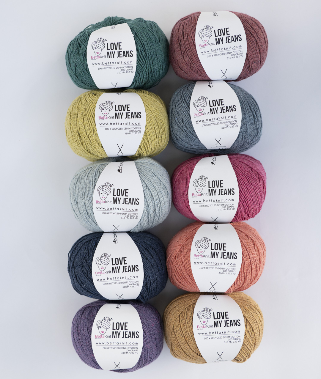 Packs of Skeins -  - Love My Jeans - 10 balls - 1