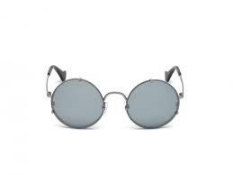 Balenciaga - Occhiale da Sole Donna, Argento (Silver) BA0086 14C-55-22-135