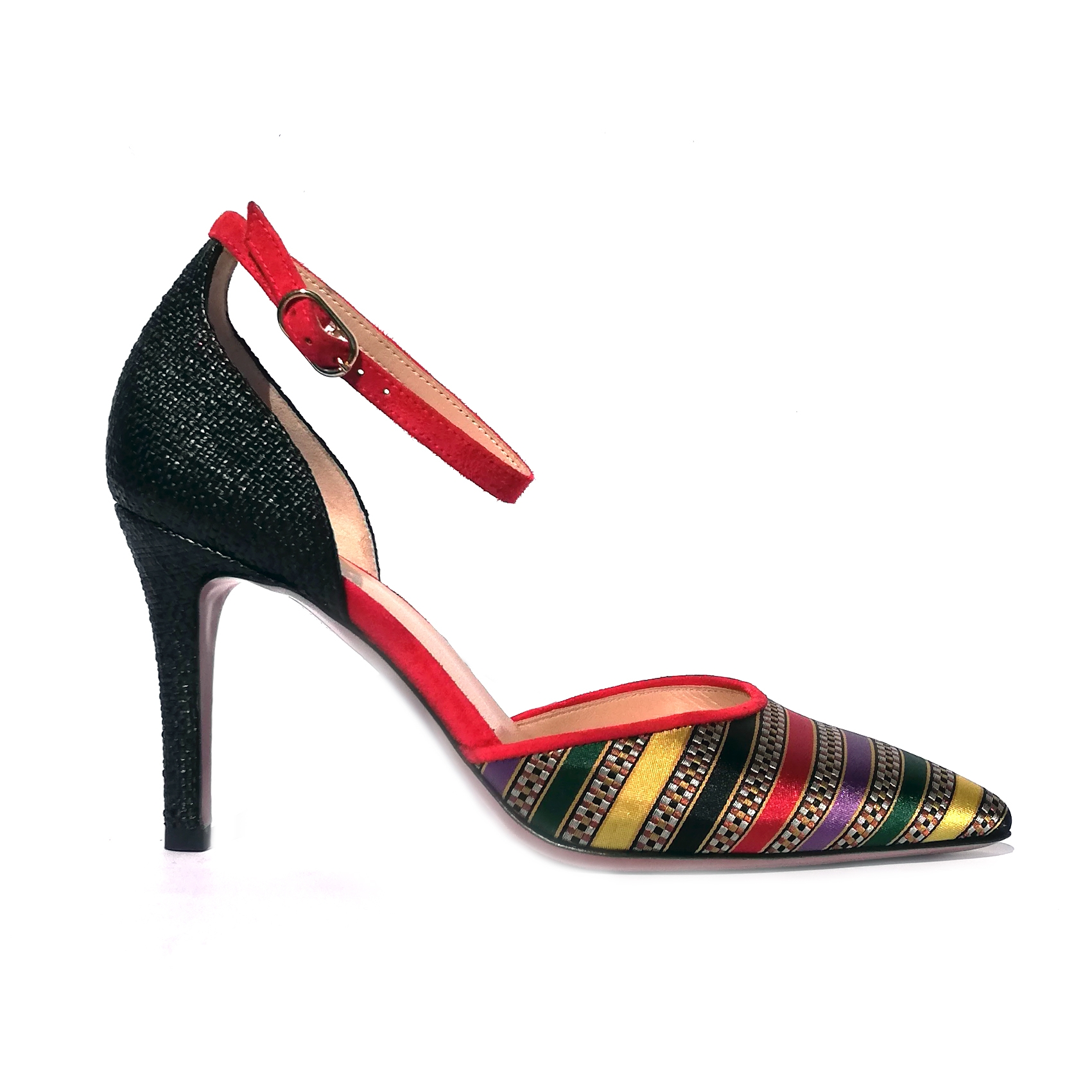 Sandalo multicolore Elata