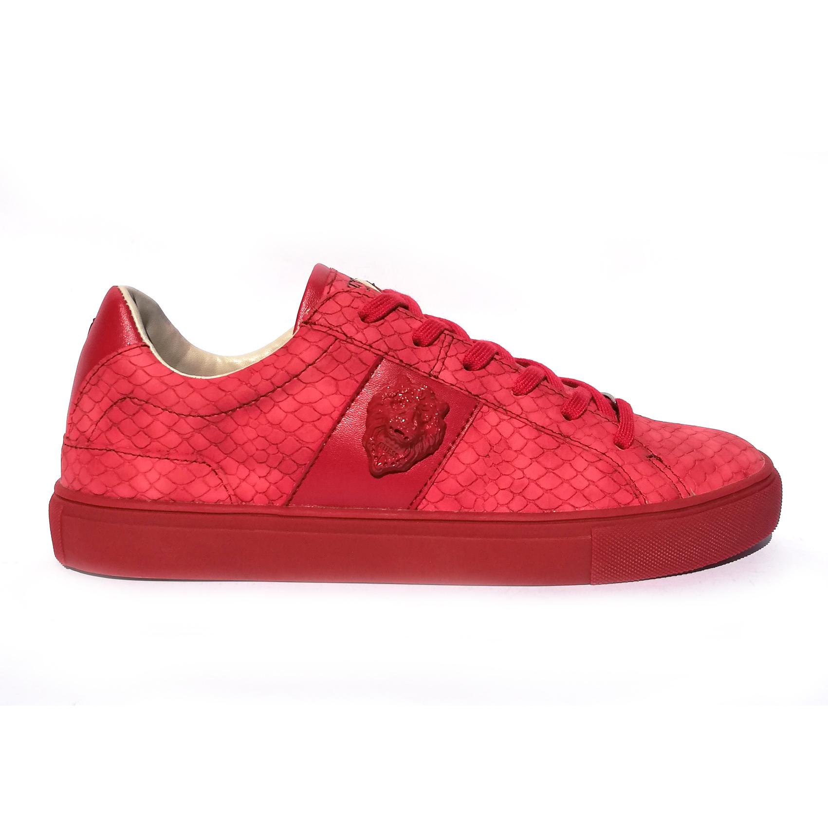 Sneaker rossa Guess