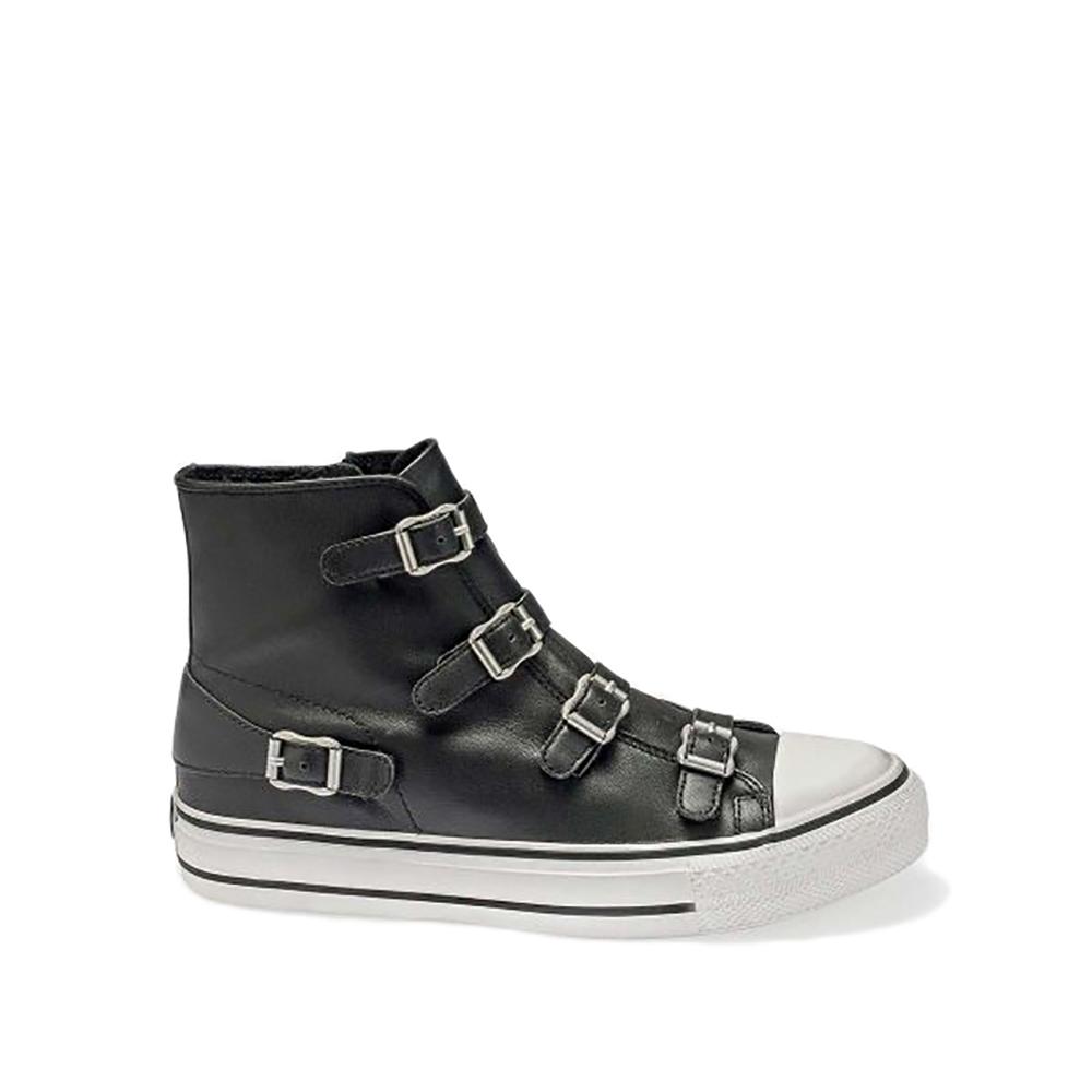 Sneakers in pelle modello Virgin colore nero - ASH