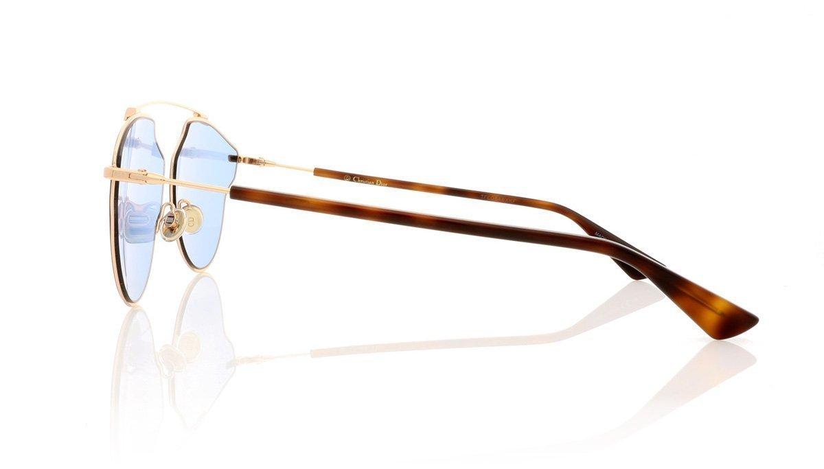 Christian Dior - Occhiale da Sole Unisex, Dior So Real Pop, Copper Gold Dark Havana/Blue DDB