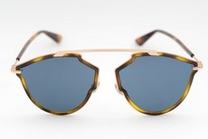 Christian Dior - Occhiale da Sole Unisex, Dior So Real Rise Dark Havana/Blue DDB