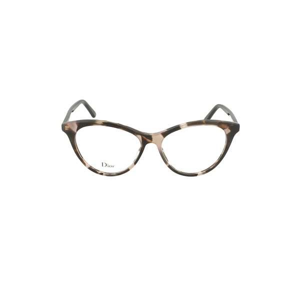 Christian Dior - Occhiale da Vista Donna, Dior Montaigne 57 Ht8/15 Pink Havana
