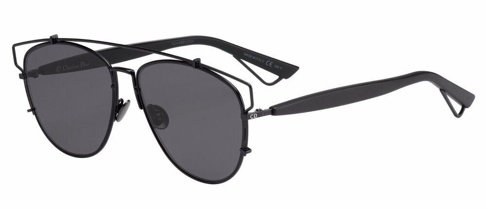 Christian Dior - Occhiale da Sole Donna, Dior Technologic, Black/Dark Grey (65Z/2K)