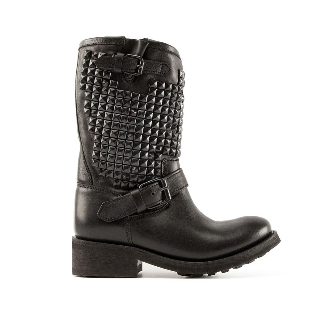 Biker TRASH001-black pavonado– ASH Mexican Boots