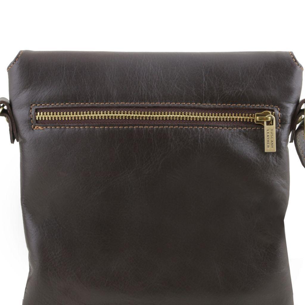 Tuscany Leather TL141511 Morgan - Borsa a tracolla in pelle Beige