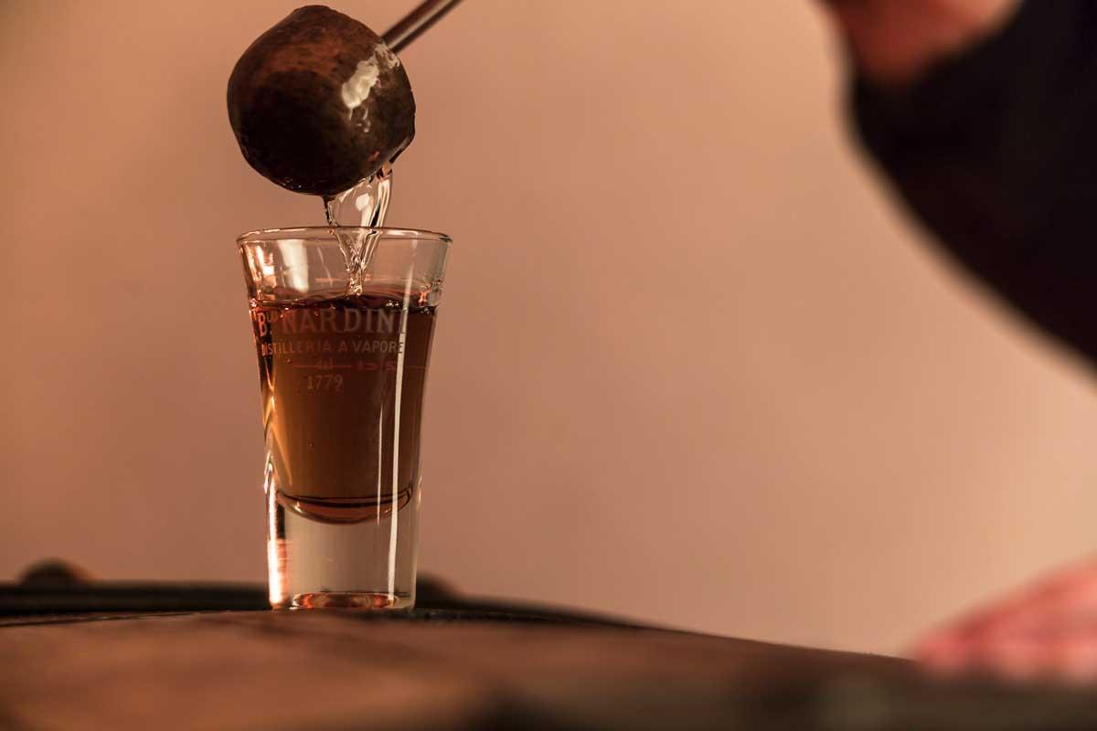 Distilleria Nardini, assaggio