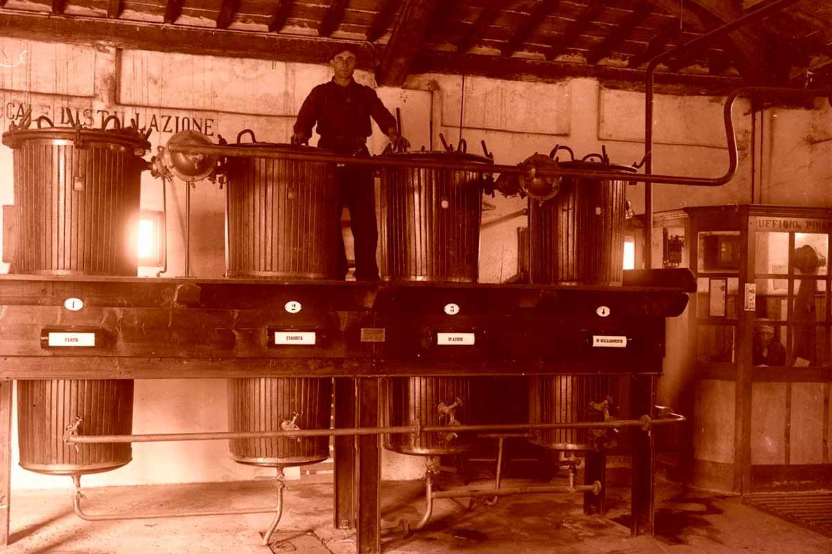 Distilleria Nardini nel passato
