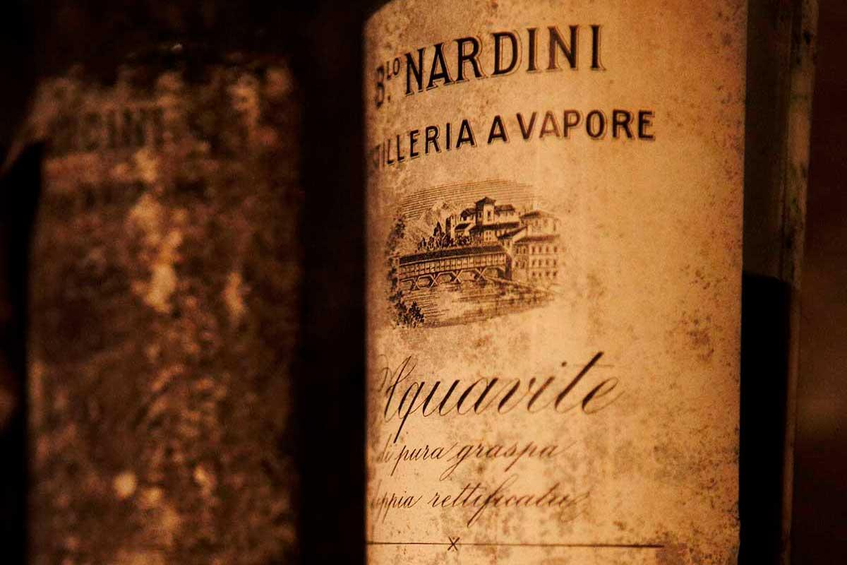 Distilleria Nardini, etichetta