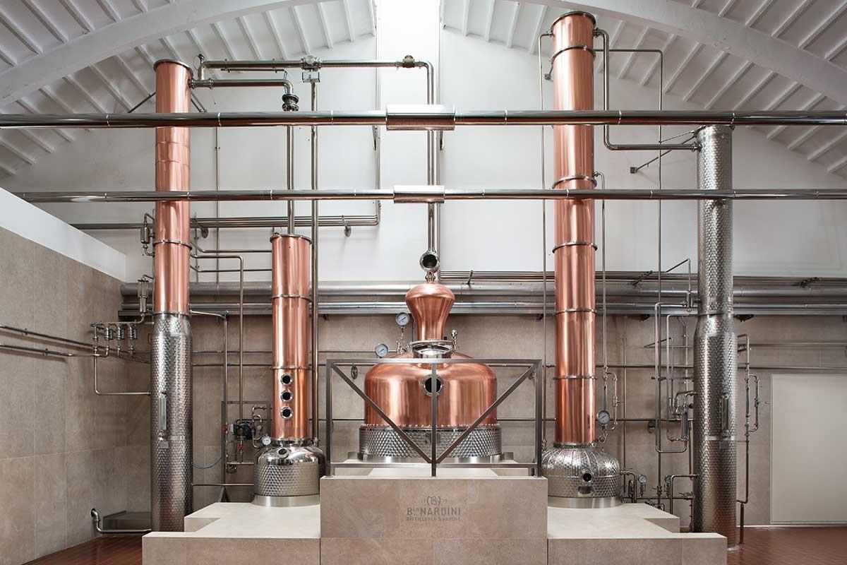Distilleria Nardini, la produzione