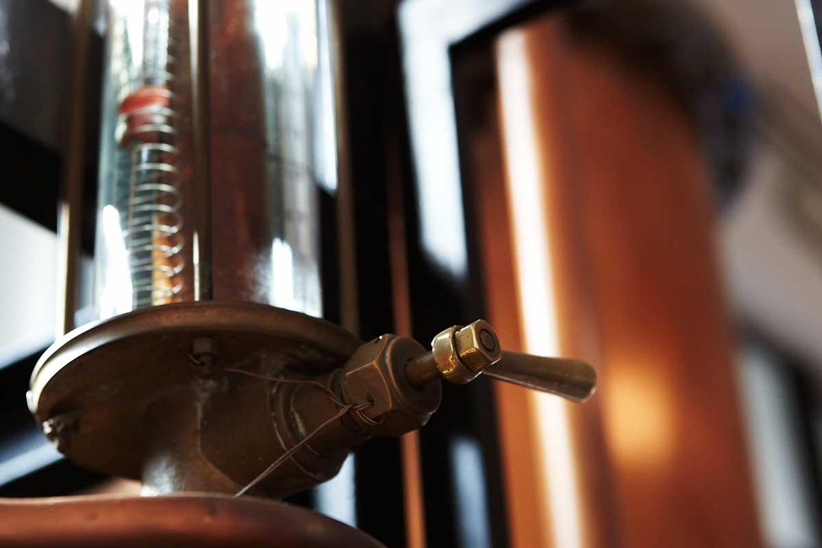 Distilleria Nardini, alambicchi moderni