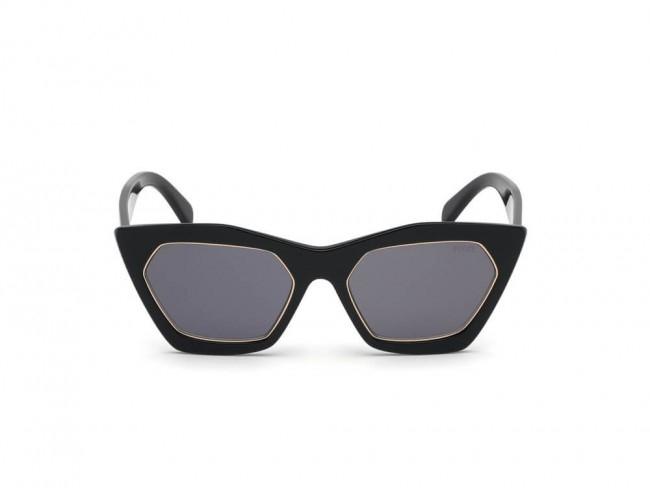 Emilio Pucci - Occhiale da Sole Donna, Shiny Black/Smoke EP0094 01A C54
