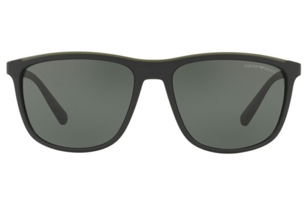 Emporio Armani - Occhiale da Sole Uomo, Black/Green Petrol EA4109 575671 C57