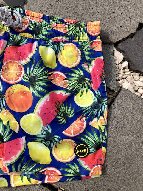 Boxer Corto stampato frutta Effek Taglia S e M