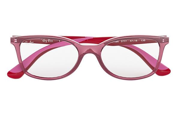 Ray Ban - Occhiale da Vista Bambina, Junior Optical, Pink - Red RY1586 3777 C49