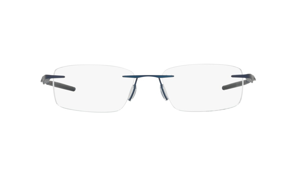 Oakley - Occhiale da Vista Unisex, Wingfold Evr, Polished Midnight Blue OX5118 511804 C53