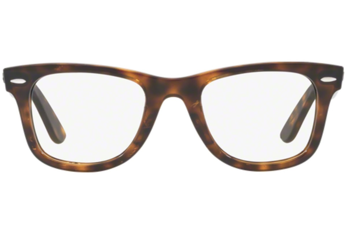 Ray Ban - Occhiale da Vista Unisex, Wayfarer Ease Optics, Dark Havana RX4340 2012-A C50
