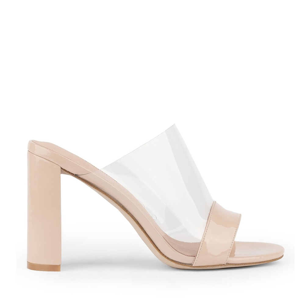 J.CAMPBELL 17 KEIRA SUEDE NUDE CLEAR