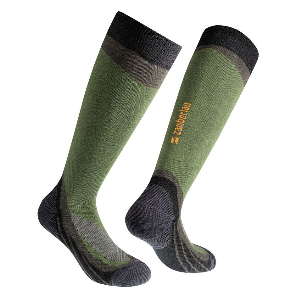 ZAMBERLAN® FOREST COOLMAX® HIKING SOCKS   -   High Cut   -   Green