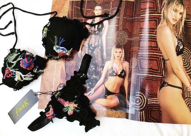 Bikini Triangolo e slip fianco brasiliana Papunya Effek