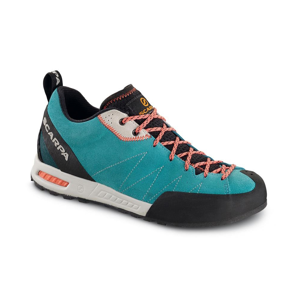 GECKO WMN   -   Lightweight, comfortable and supple   -   Icefall-Coral red