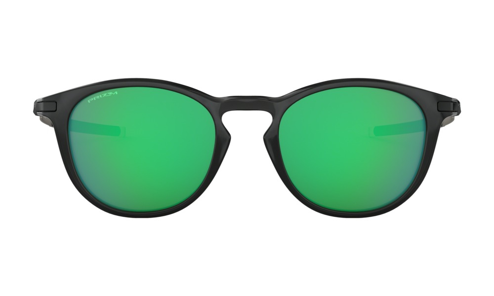 Oakley - Occhiale da Sole Uomo, Pitchman R, Polished Black Ink/Green Prizm Jade  OO9439 943903  C50