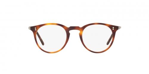 Oliver People's - Occhiale da Vista Unisex, O'Malley, Semi-matte Dark Mahogany OV 5183SM 1556/87 A  C48