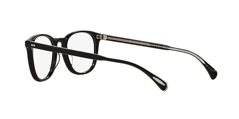Oliver People's - Occhiale da Vista Unisex, Finley Esq., Matte Black OV5298U 1492 C51