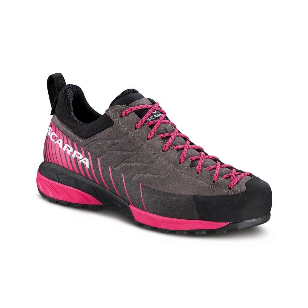 MESCALITO GTX WMN   -   Technical approach, via ferratas,  hiking on rainy days   -   Titanium-Rose Red