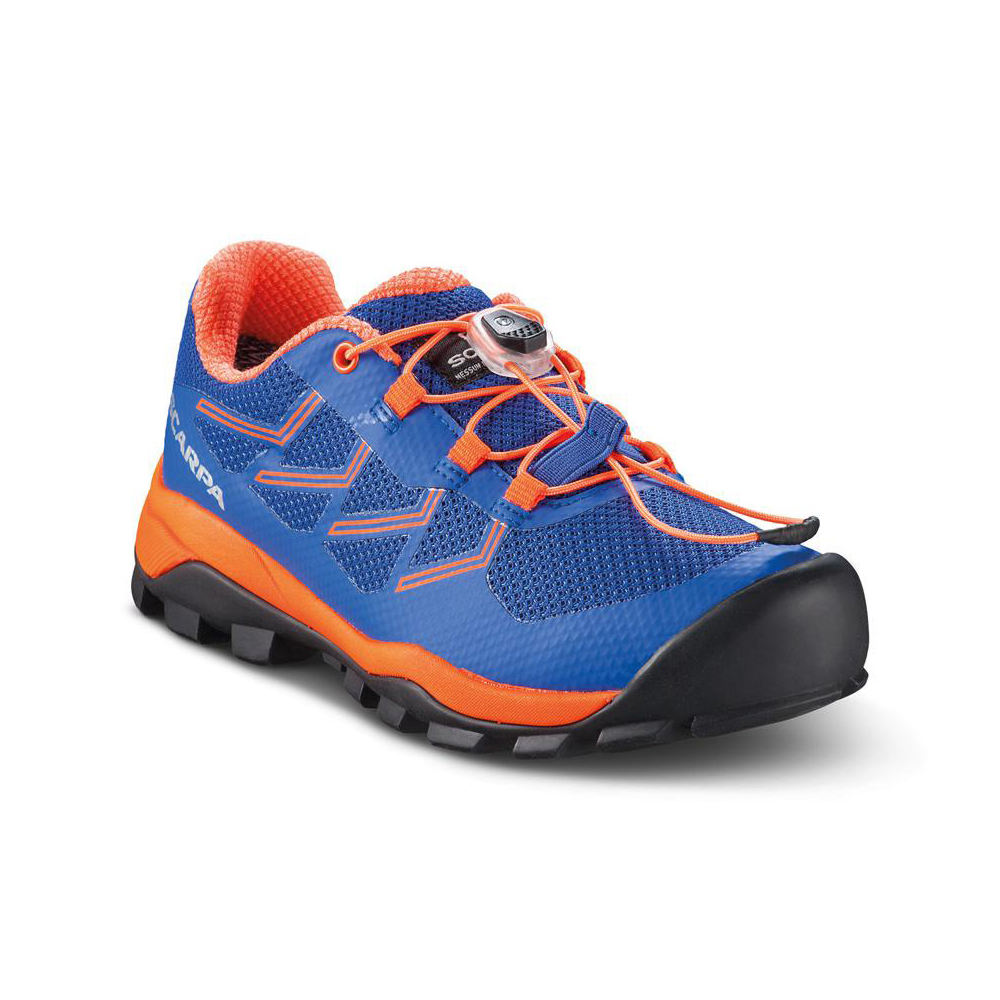 NEUTRON KID   -   For walks on trails and free time   -   Deep Blue-Orange Fluo