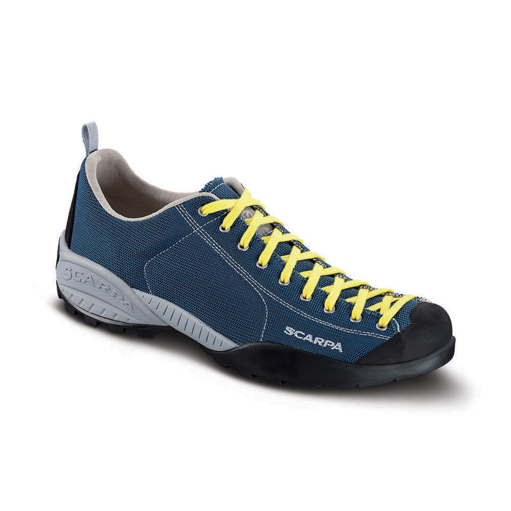 MOJITO FRESH   -   Comfortable technical fabric   -   Denim Blue-Yellow