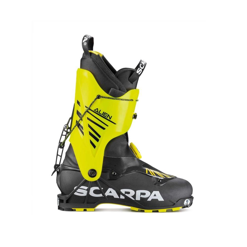 ALIEN   -   Entry-level ski mountaineers   -   Carbon Grilamid LFT/Yellow