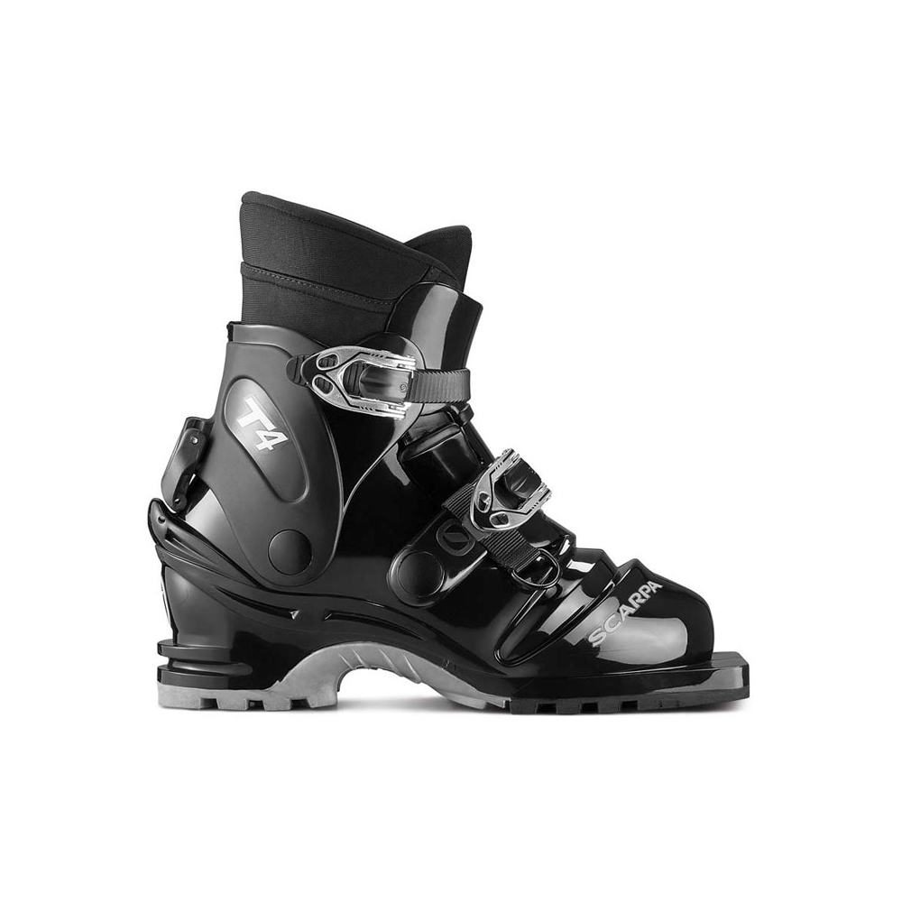 T4   -   Light and warm back-country boot   -   Black