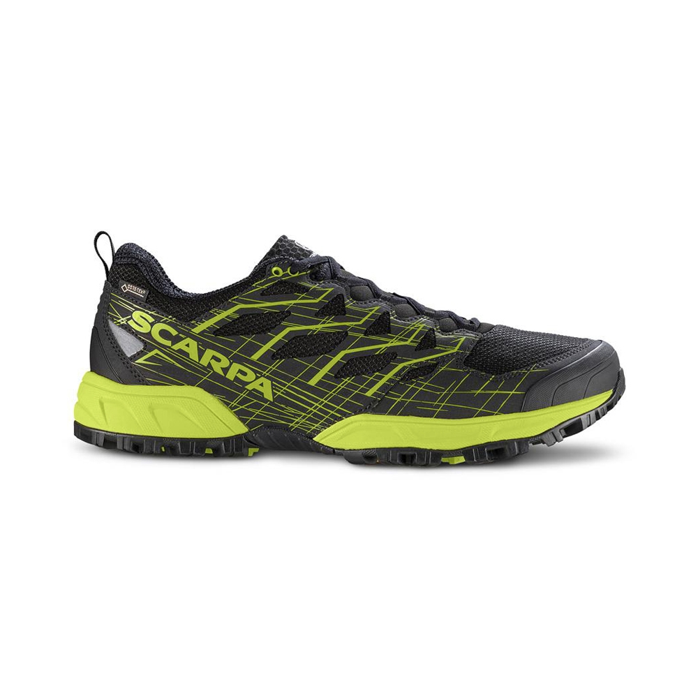 NEUTRON 2 GTX   -   Comfortable fit and great cushioning, waterproof   -   Black-Green Tender