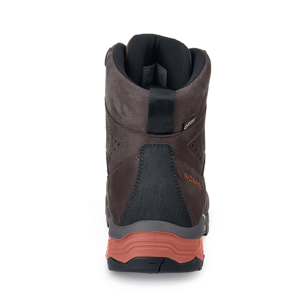 ZG PRO GTX   -   For moving fast on alpine hikes, waterproof   -   Dark Coffee-Rust