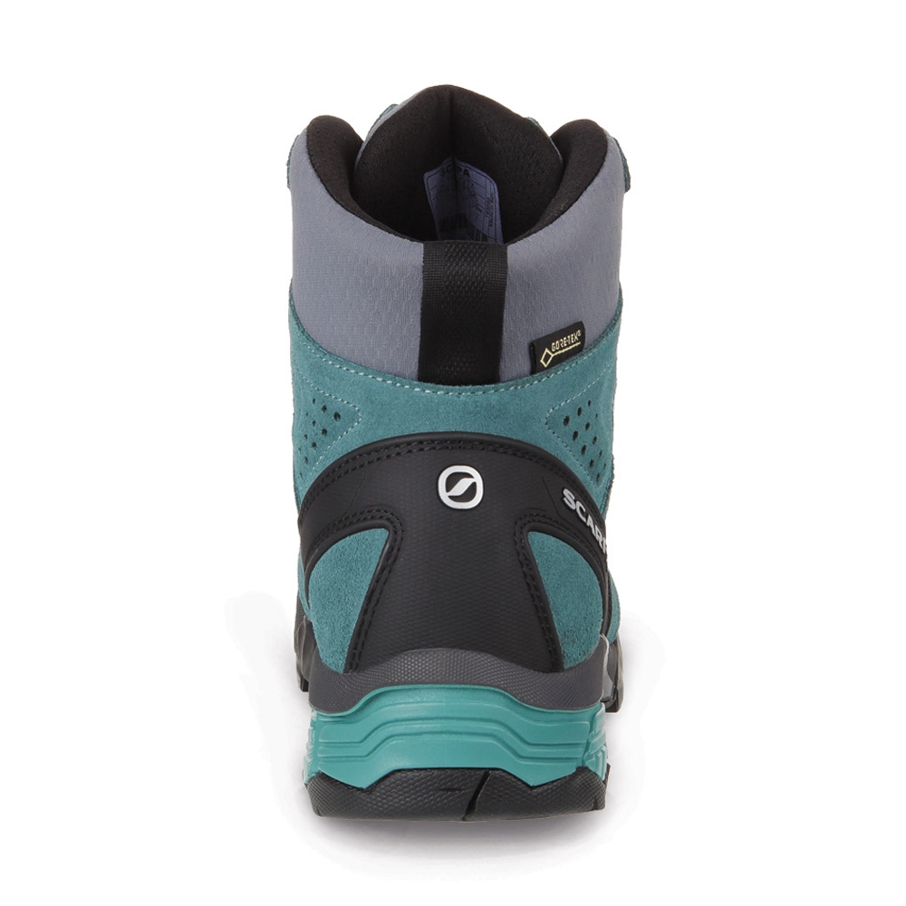ZG TREK GTX WMN   -   For moving fast on alpine hikes, waterproof   -   Nile Blue-Gray-Lagoon