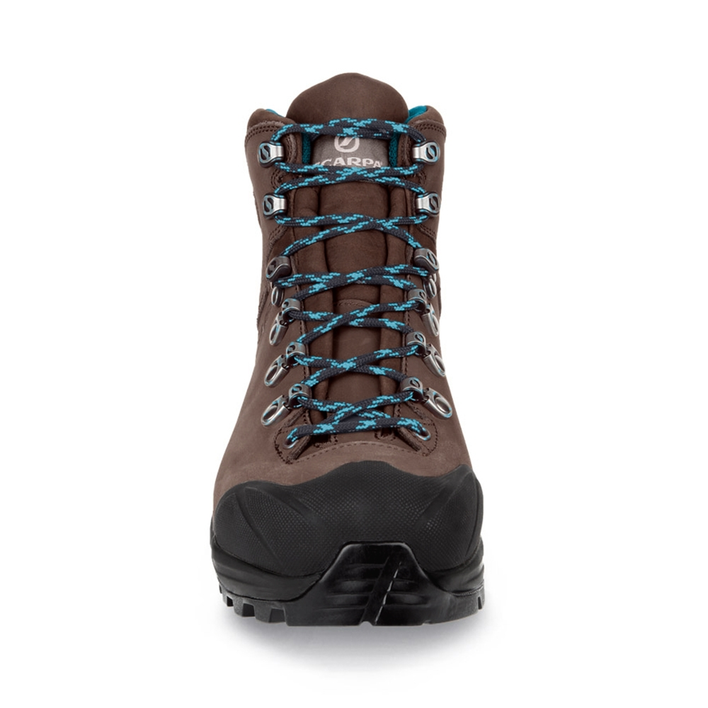 KAILASH PLUS GTX WMN   -   On trails with full backpacks, waterproof   -   Dark Brown ( Nubuck )